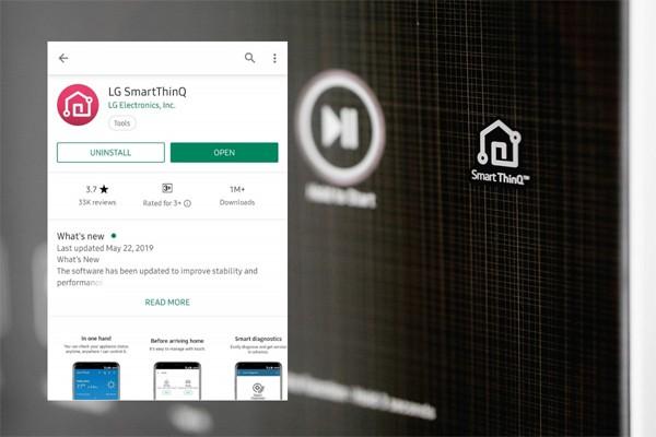 Ứng dụng SmartThinQ với rất nhiều chế độ giặt riêng biệt dành cho từng loại chất liệu