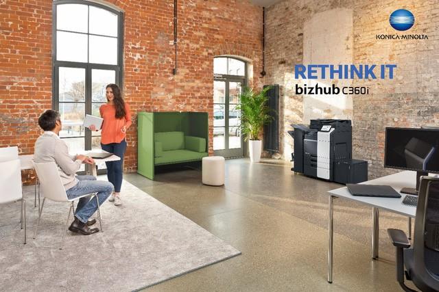 Máy photocopy màu đa chức năng bizhub C360i - Giải pháp mới nâng tầm môi trường làm việc của bạn ảnh 1
