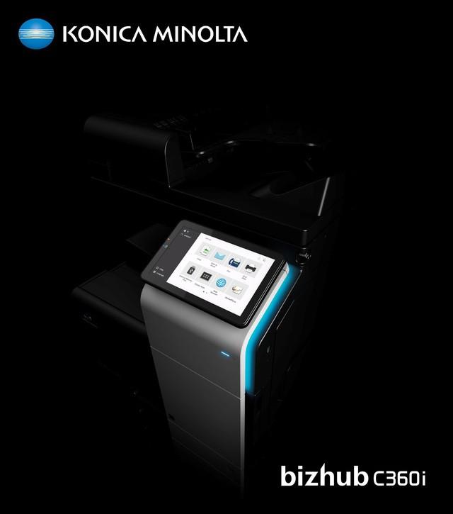 Máy photocopy màu đa chức năng bizhub C360i - Giải pháp mới nâng tầm môi trường làm việc của bạn ảnh 2