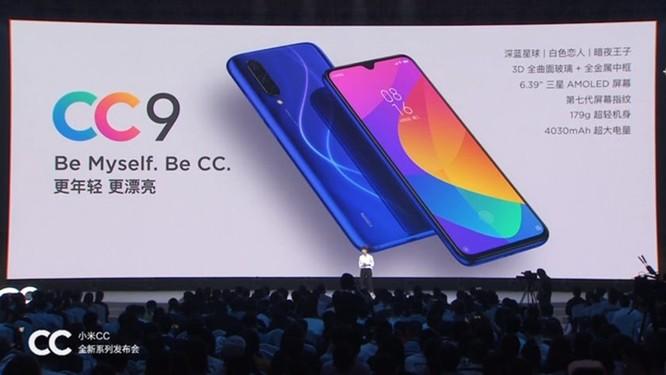 Xiaomi MI CC 9 chính thức: màn OLED 6.4 inch, Snapdragon 710, camera 32+48mp, giá 6 triệu đồng ảnh 1