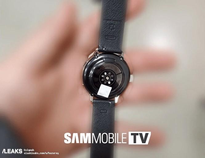 Galaxy Watch Active 2 rò rỉ với thiết kế quen thuộc, cảm biến đo nhịp tim được cải tiến ảnh 2