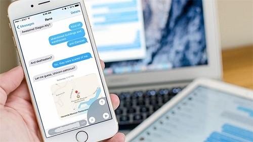 iMessage sẽ cố gắng tải lại liên tục tin nhắn bị lỗi có chủ ý.