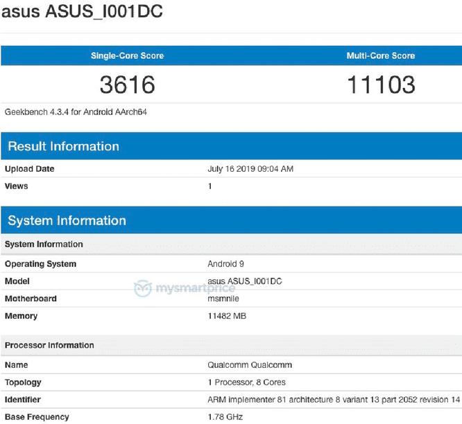 Điểm hiệu năng Asus ROG Phone 2.