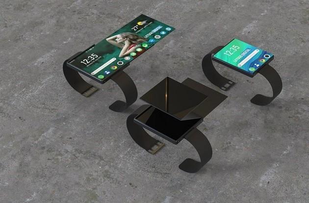 Oppo âm thầm phát triển smartwatch có màn hình gập ảnh 2