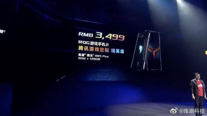 Bất ngờ, Asus ROG Phone II chỉ có giá 508 USD cho Snapdragon 855+, pin 6.000mAh ảnh 2