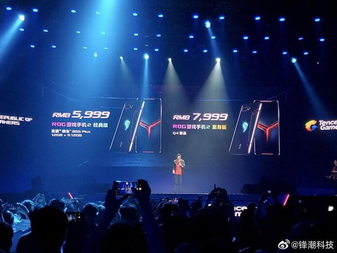 Bất ngờ, Asus ROG Phone II chỉ có giá 508 USD cho Snapdragon 855+, pin 6.000mAh ảnh 3
