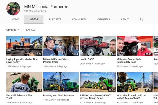 Nông dân kiếm tiền từ Youtube còn nhiều hơn cả... làm nông ảnh 1