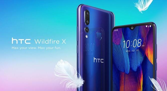 HTC Wildfire X ra mắt: 3 camera sau, RAM 3GB, pin 3.300mAh, giá 155 USD ảnh 1