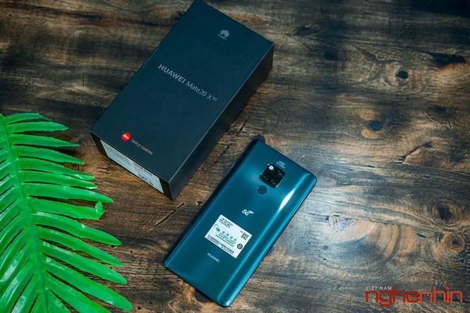 Trên tay Huawei Mate 20X 5G đầu tiên tại Việt Nam giá 17 triệu ảnh 2
