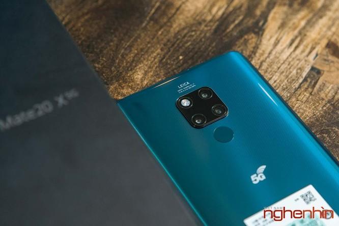 Trên tay Huawei Mate 20X 5G đầu tiên tại Việt Nam giá 17 triệu ảnh 5