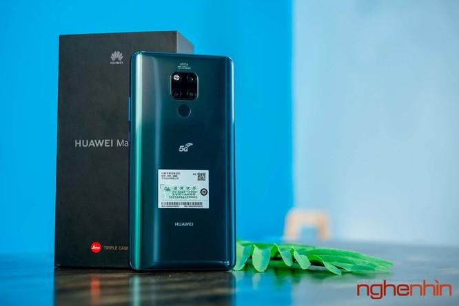 Trên tay Huawei Mate 20X 5G đầu tiên tại Việt Nam giá 17 triệu ảnh 1