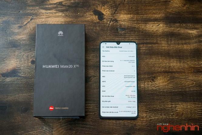 Trên tay Huawei Mate 20X 5G đầu tiên tại Việt Nam giá 17 triệu ảnh 10