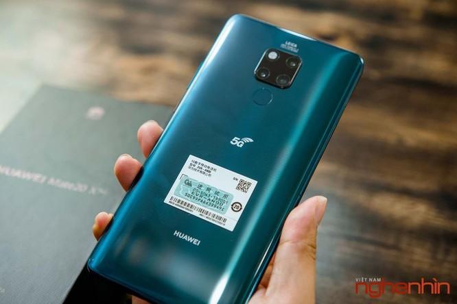 Trên tay Huawei Mate 20X 5G đầu tiên tại Việt Nam giá 17 triệu ảnh 4