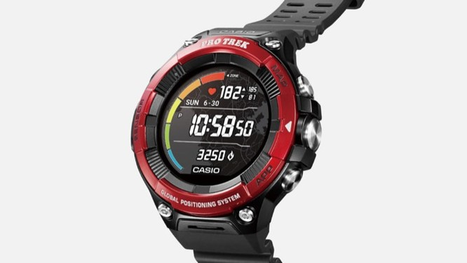 Casio giới thiệu smartwatch Pro Trek chạy Wear OS mới, giá 500 USD ảnh 1