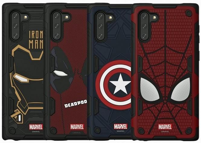 """Samsung sẽ phát hành """"smart case"""" Marvel đặc biệt cho Note 10 series ảnh 1"""