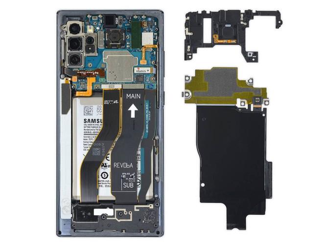 Khám phá nội thất Samsung Galaxy Note10+ 5G