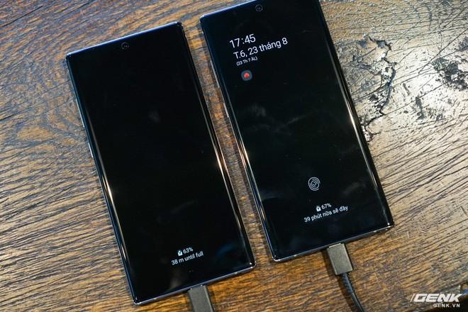 Trải nghiệm sạc nhanh củ sạc 45W và 25W của Samsung Galaxy Note10+, kết quả thật bất ngờ! - Ảnh 14.
