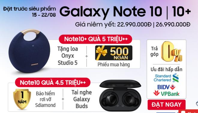 Nhà bán lẻ Việt đi cửa sau với khách để bán Galaxy Note 10 giá rẻ hơn niêm yết - Ảnh 1.