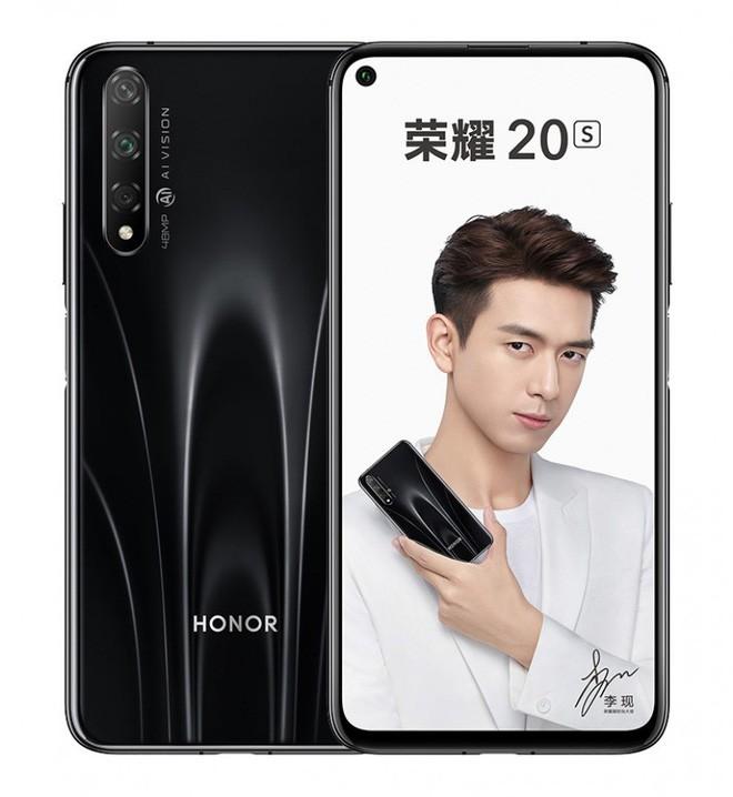 Honor 20S ra mắt: Màn hình đục lỗ, 3 camera sau, chip Kirin 810, pin 3.750 mAh, giá từ 265 USD ảnh 1