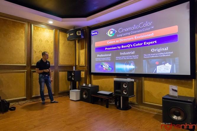 BenQ ra mắt hai mẫu máy chiếu 4K UHD, tích hợp công nghệ Cinematic Color giá từ 60 triệu ảnh 5