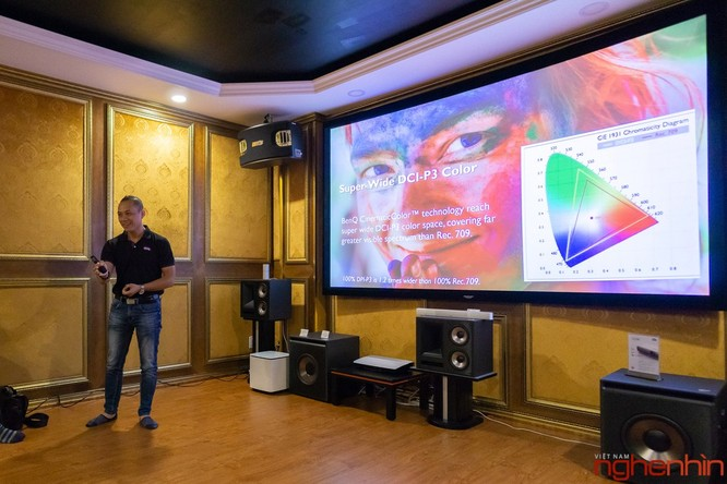 BenQ ra mắt hai mẫu máy chiếu 4K UHD, tích hợp công nghệ Cinematic Color giá từ 60 triệu ảnh 6