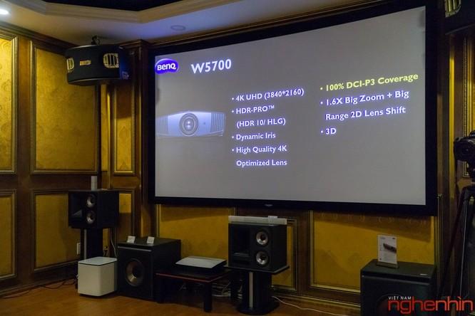 BenQ ra mắt hai mẫu máy chiếu 4K UHD, tích hợp công nghệ Cinematic Color giá từ 60 triệu ảnh 4