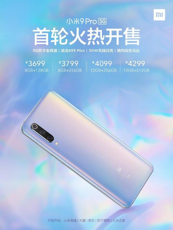 Xiaomi Mi 9 Pro 5G cháy hàng sau 2 phút trong lần mở bán đầu tiên ảnh 2