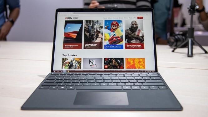 Surface Pro X: chiếc Surface đẹp nhất Microsoft từng tạo ra, giá từ 999 USD ảnh 1