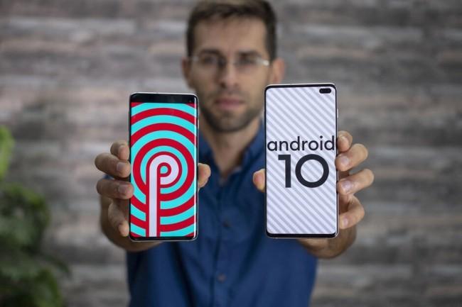 Đã có Android 10 beta cho Galaxy S10+ ảnh 1