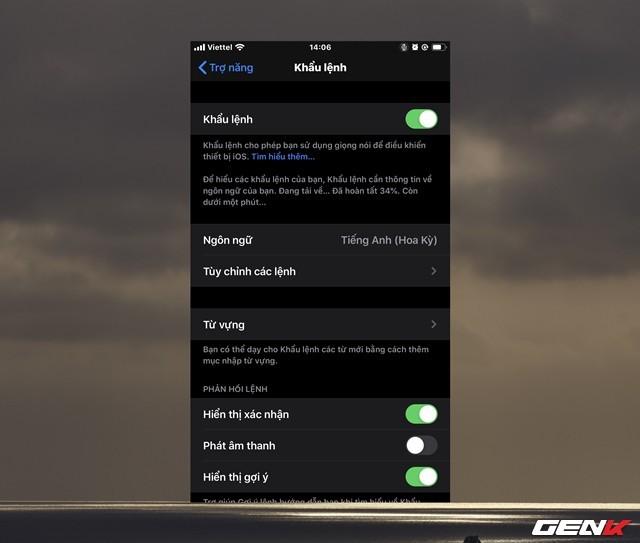iOS 13: Cách kích hoạt và sử dụng tính năng điều khiển bằng giọng nói - Ảnh 8.