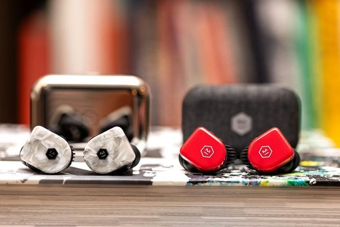Tai nghe thể thao true wireless nhẹ nhất thế giới, pin 22 tiếng, driver Beryllium, giá từ 5,3 triệu đồng ảnh 5