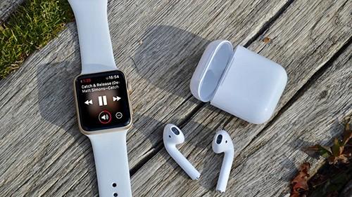 Doanh sốmảng thiết bị đeo Apple quý IV/2019tăng mạnh.