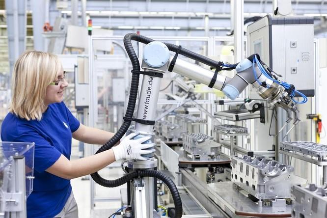 Robot công nghiệp, Cobot, Co-bot, Robot cộng tác, tương lai ngành công nghiệp, cánh tay đắc lực robot