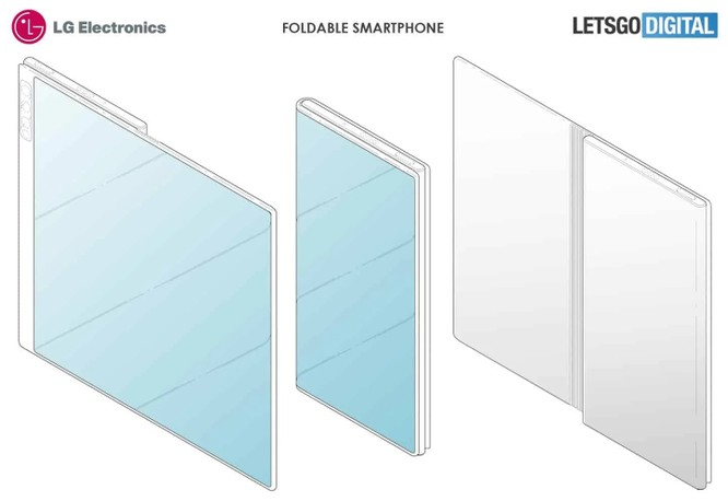 Chiếc điện thoại gập mới của LG sẽ có thiết kế tương tự Huawei Mate X