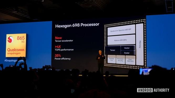 Đây là điểm hiệu năng Snapdragon 865, cao nhất nhưng không vượt trội ảnh 3