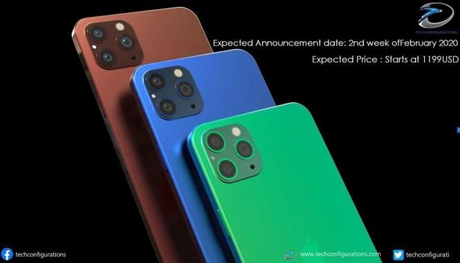 Xuất hiện mẫu iPhone 12 Pro Max màn hình không 'tai thỏ' đẹp miên man