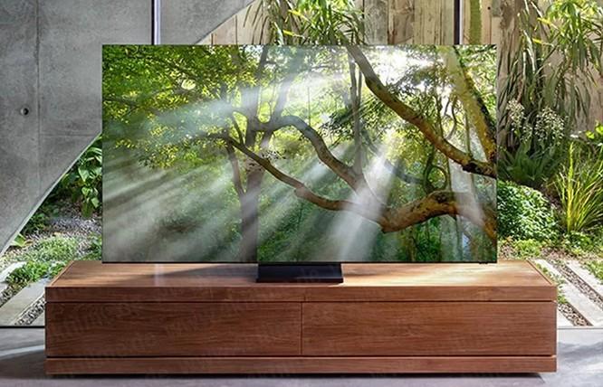 TV Samsung 8K hoàn toàn không viền màn hình sắp ra mắt. Ảnh: Samsung / 4KFilme