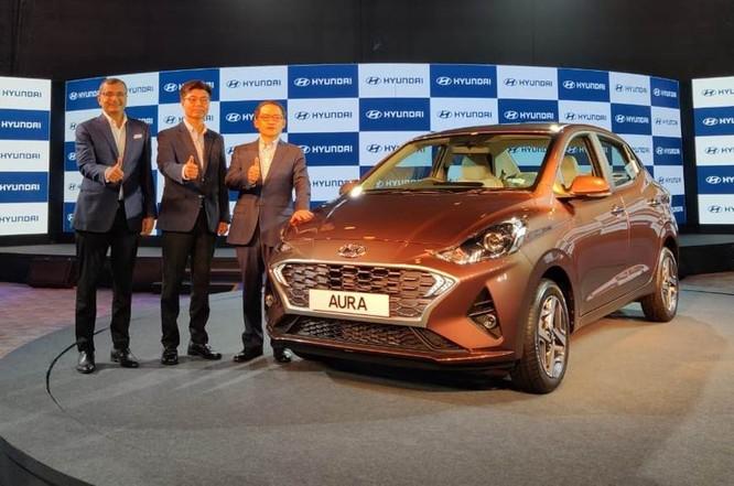 Hyundai Aura mới cho thị trường Ấn Độ.