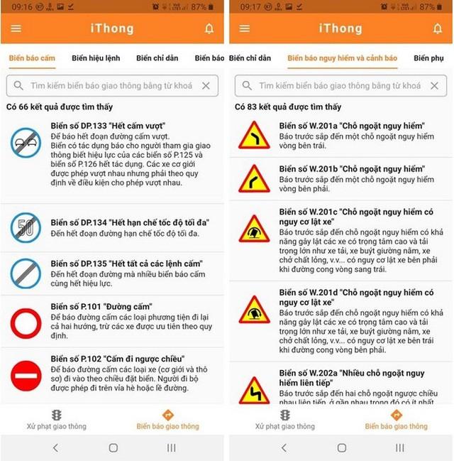 Ứng dụng hữu ích giúp tra cứu các mức xử phạt vi phạm giao thông theo Nghị định 100 ảnh 4