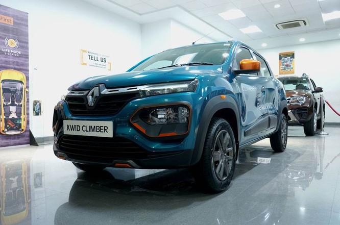 Renault Kwid tương thích BS6 dành cho thị trường Ấn Độ.