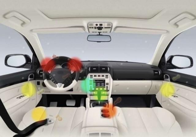 Những vị trí bẩn nhất trong khoang cabin xe mà ít ai ngờ tới. Ảnh: Paultan
