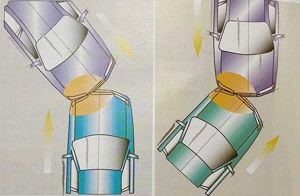Những kiểu va chạm ôtô khiến túi khí không bung ảnh 3