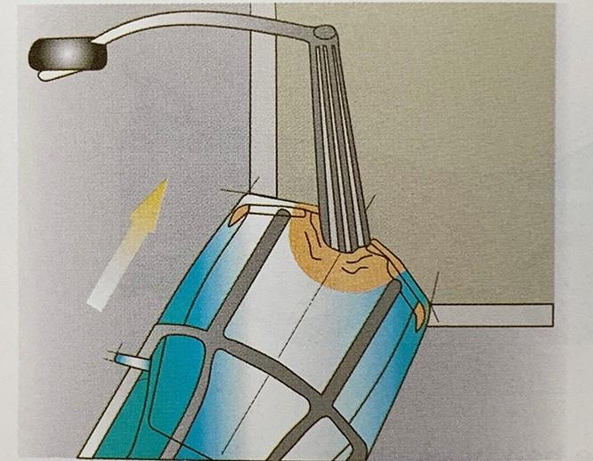 Những kiểu va chạm ôtô khiến túi khí không bung ảnh 5