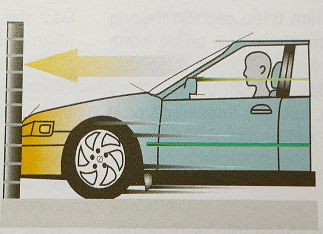 Những kiểu va chạm ôtô khiến túi khí không bung ảnh 2