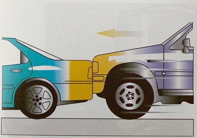 Những kiểu va chạm ôtô khiến túi khí không bung ảnh 8