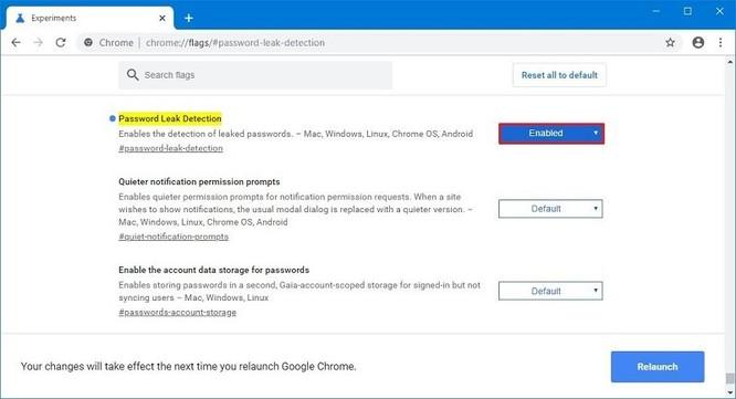 Hướng dẫn bật cảnh báo rò rỉ mật khẩu trên Google Chrome ảnh 2