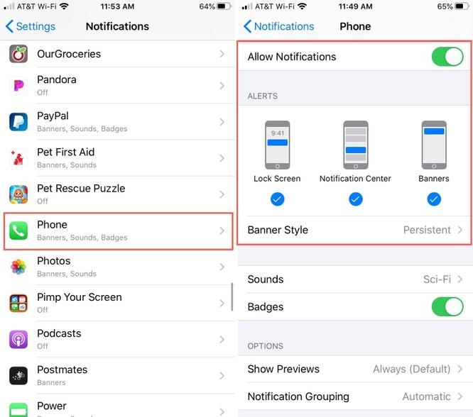 Cách sửa lỗi iPhone không hiện thông báo cuộc gọi nhỡ ảnh 2