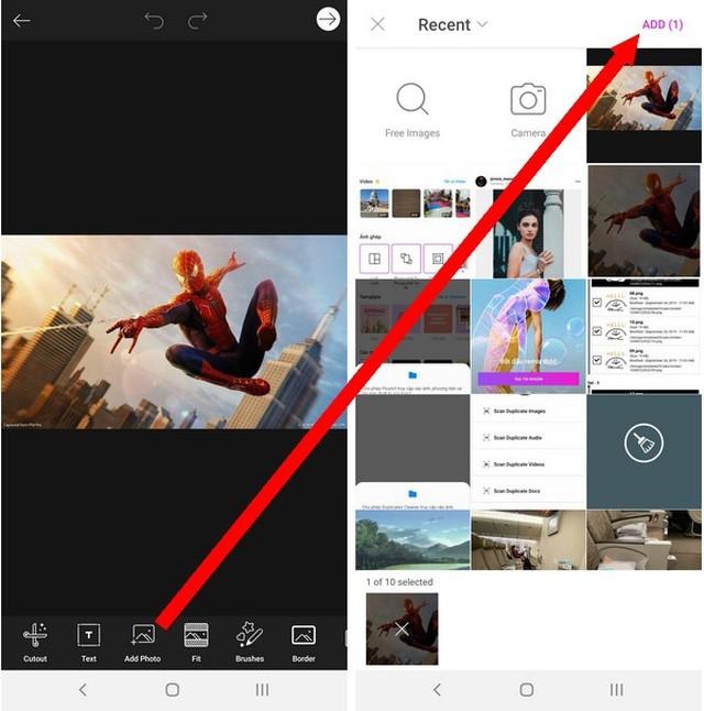 Hướng dẫn tạo ảnh với hiệu ứng đầu to siêu hài hước trên smartphone ảnh 5