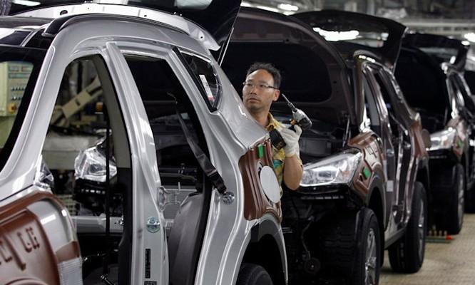 Hyundai đóng của một nhà máy ở Ulsan sau khi phát hiện một công nhân dương tính với Covid-19. Ảnh: Hyundai.
