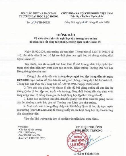 Khẩn: Các trường ĐH ở TP.HCM hủy thông báo, cho sinh viên tiếp tục nghỉ! ảnh 5